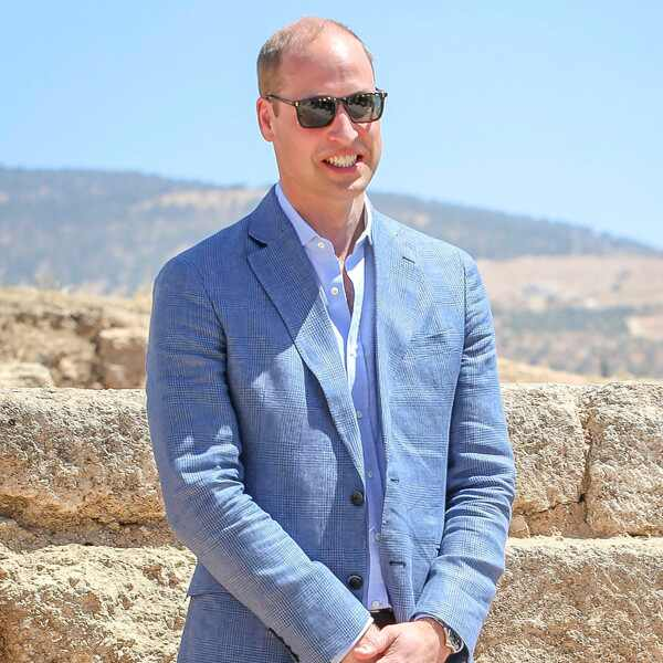 Prince William, Jordan